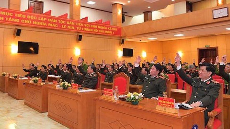 Bộ Công an giới thiệu 4 đồng chí ứng cử đại biểu Quốc hội khóa XV