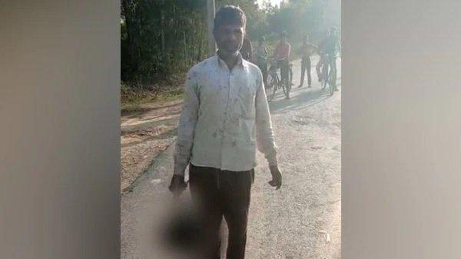 Cha nhẫn tâm sát hại con gái man rợ rồi tự thú gây rúng động Ấn Độ