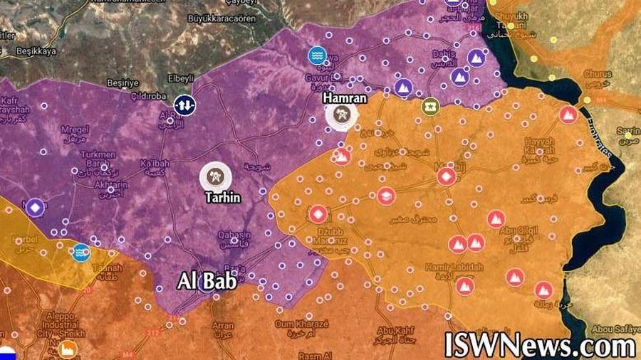 Syria: Tàu chiến Nga tấn công tên lửa nhà máy lọc dầu ở Aleppo, 4 người thiệt mạng