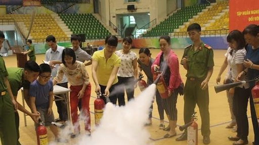 Tập trung thực hiện hiệu quả công tác quản lý phòng cháy, chữa cháy của UBND cấp xã