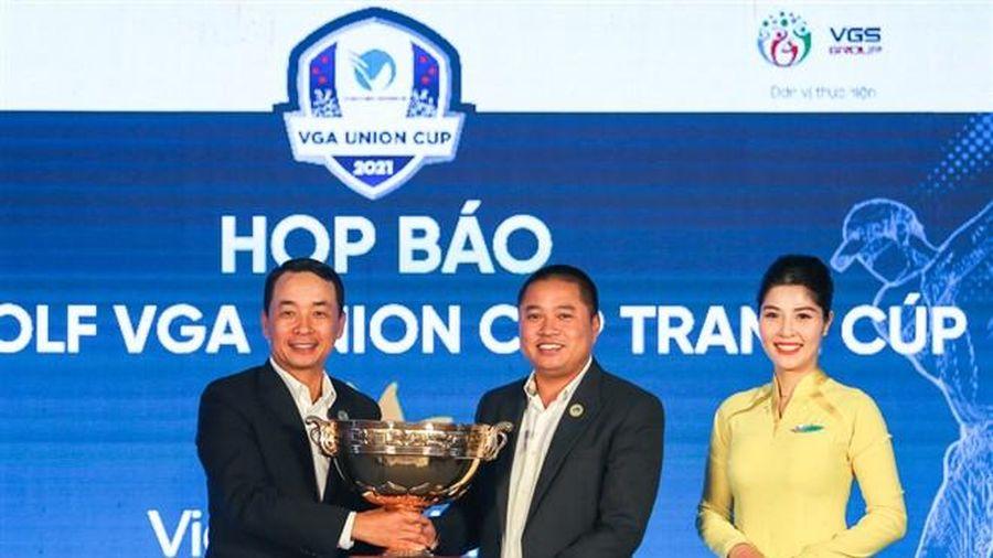 Hai đội tuyển golf Bắc, Nam tranh tài tại VGA Union Cup 2021