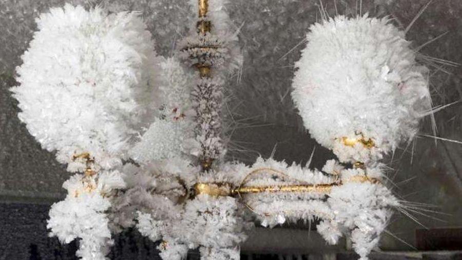 'Thị trấn ma' lẻ loi chìm trong tuyết tại Nga