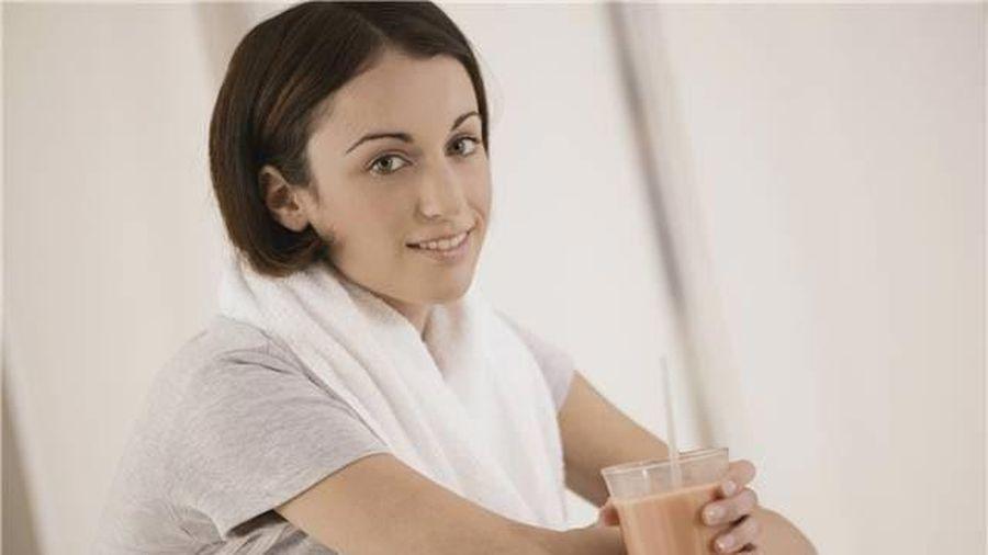 Hé lộ đồ uống tốt nhất sau khi tập thể dục