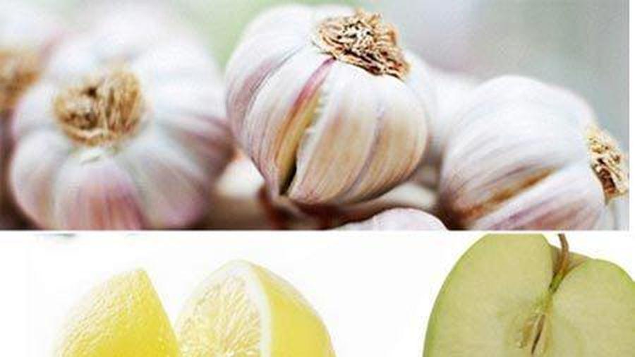 Những thực phẩm giúp khử mùi tỏi hiệu quả