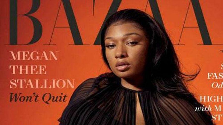 Megan Thee Stallion 'thả rông' táo bạo trên tạp chí