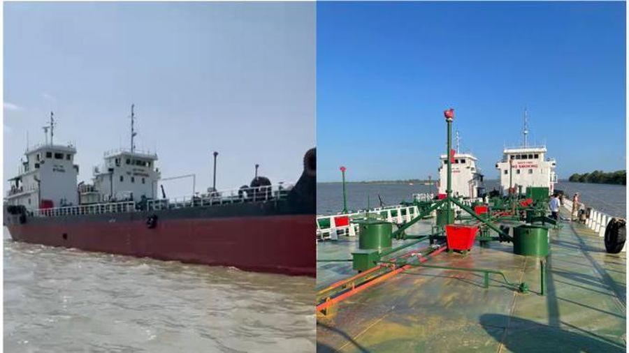 Bắt giữ 2 thuyền trưởng trong chuyên án buôn lậu xăng giả phía Nam