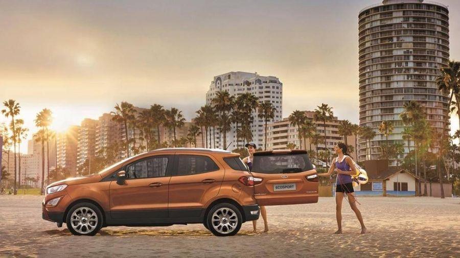 Soi những chi tiết thực dụng của Ford EcoSport