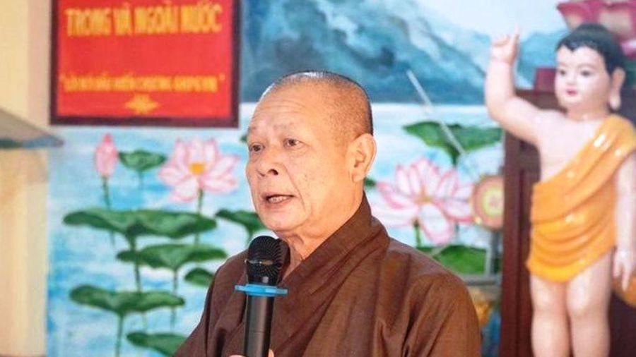 Hòa thượng Thích Nhật Ấn, Phó Trưởng ban Trị sự GHPGVN TP.HCM viên tịch