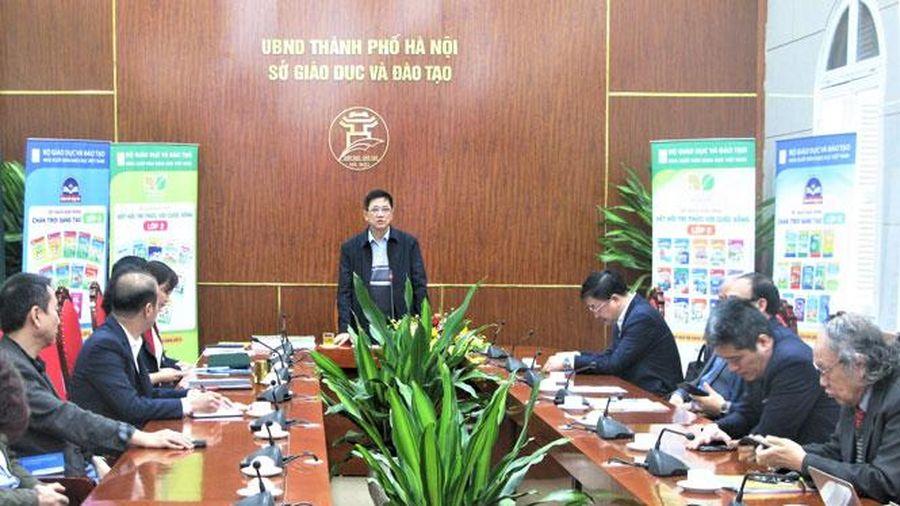 Tháng 4/2021, Hà Nội sẽ quyết định chọn sách giáo khoa lớp 2 và lớp 6