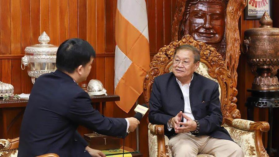 Kỷ niệm đẹp với Báo Nhân Dân của Bộ trưởng Thông tin Campuchia