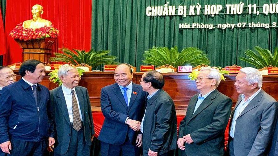 Thủ tướng Chính phủ Nguyễn Xuân Phúc tiếp xúc cử tri TP Hải Phòng