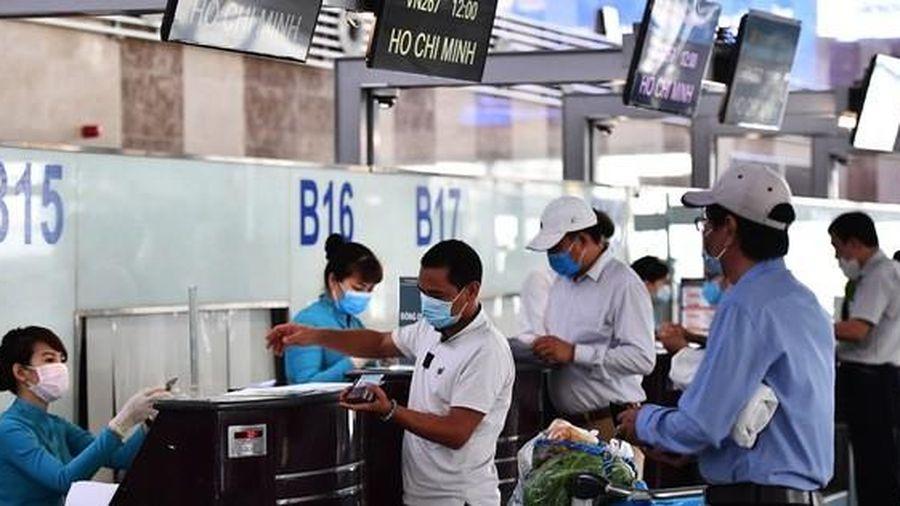 Tìm người liên quan ca bệnh Covid-19 trên chuyến bay TP HCM - Hải Phòng