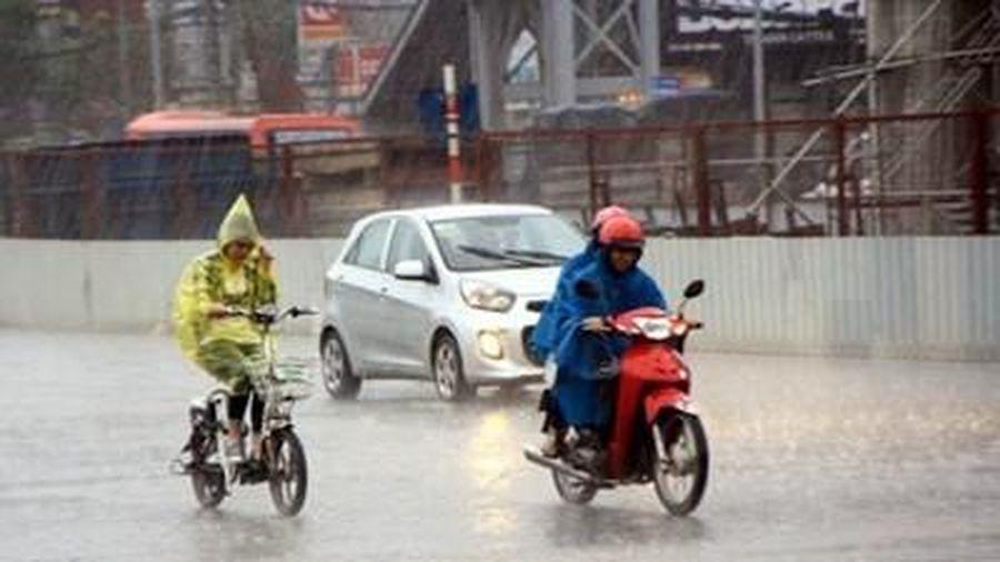 Khu vực Bắc Bộ và Bắc Trung Bộ có mưa và dông