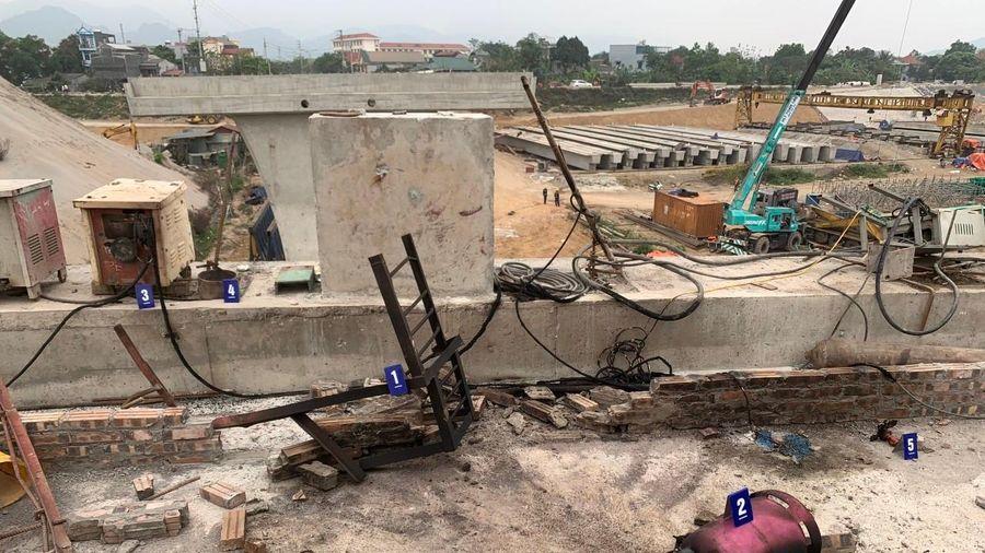 Điều tra nguyên nhân công nhân công trình Cầu Hòa Bình 2 tử vong