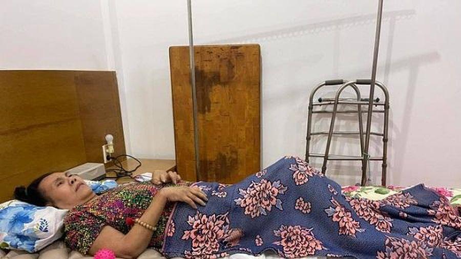 Sức khỏe nghệ sĩ Hoàng Lan ổn định hậu phẫu thuật vùng lưng bị hoại tử