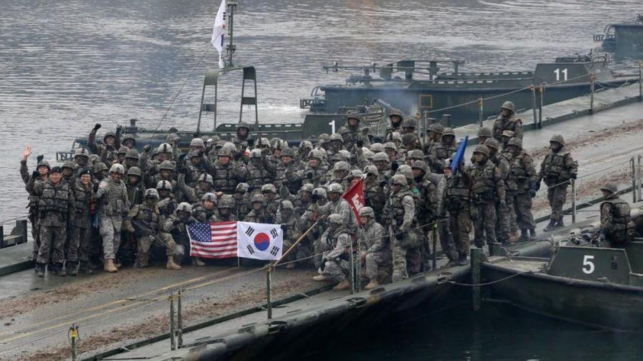 Hàn Quốc và Mỹ tập trận thường niên, thu nhỏ quy mô vì lo ngại Covid-19