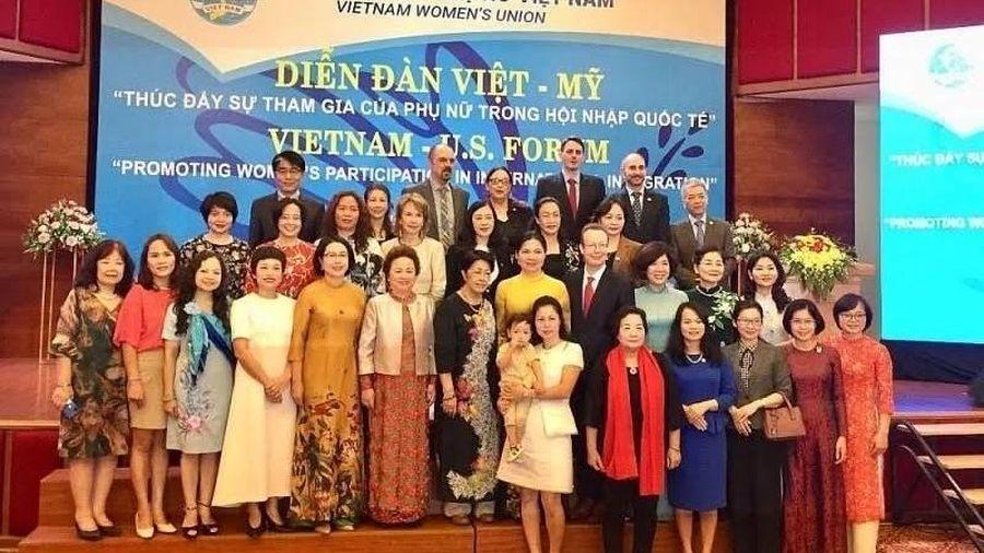 Phát huy vai trò của phụ nữ trong hội nhập quốc tế