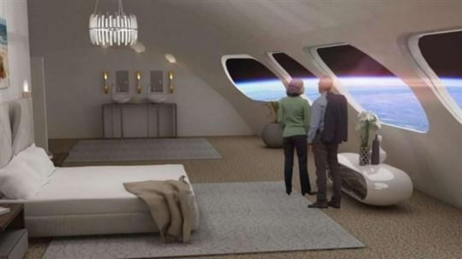 Khách sạn không gian đầu tiên trên thế giới sẽ được xây dựng vào năm 2025