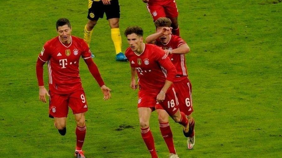 Ngược dòng ấn tượng, Bayern đánh bại Dortmund tại Siêu kinh điển nước Đức