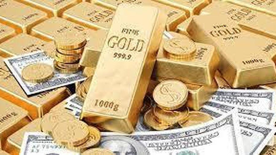 Giá vàng giảm sốc 700.000 đồng/lượng trong tuần qua