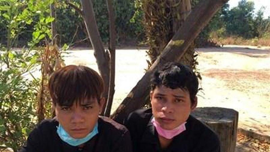 Bắt được 2 đối tượng bỏ trốn khỏi khu cách ly ở Kon Tum