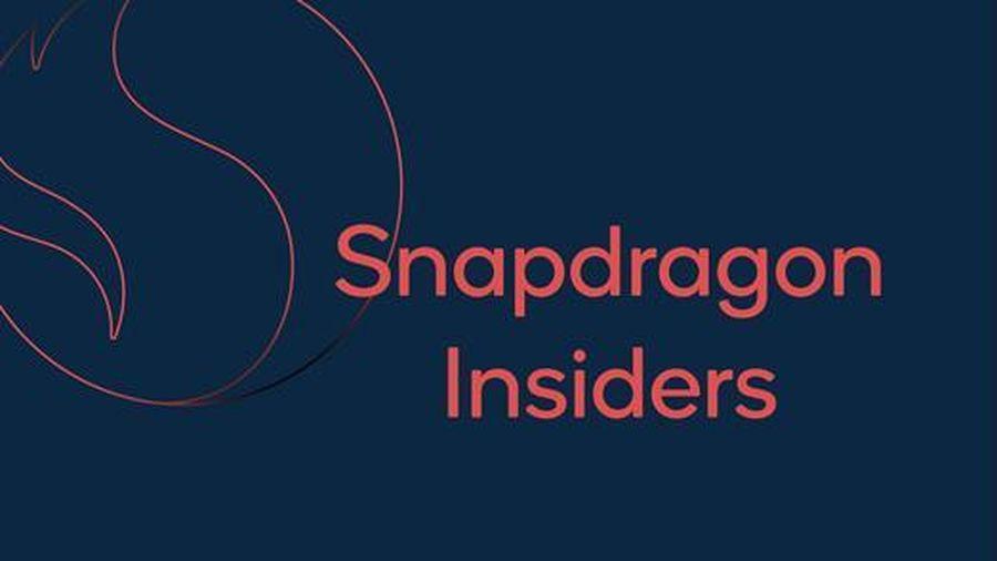 Qualcomm ra mắt chương trình Snapdragon Insiders