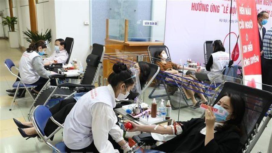 Lễ hội Xuân hồng tiếp nhận hơn 8.300 đơn vị máu, vượt kế hoạch đề ra