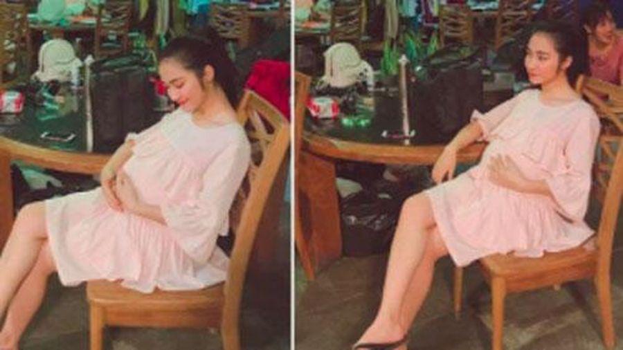 Hòa Minzy nói rõ thực hư ảnh bụng bầu vượt mặt trong quá khứ, tiết lộ cách 'hack dáng' lúc mang thai con đầu lòng