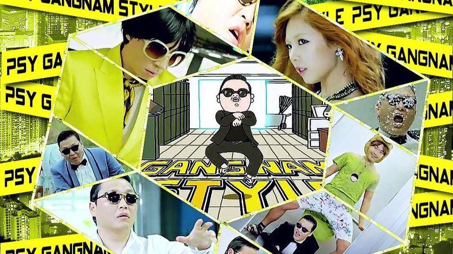 MV Gangnam Style của PSY cán mốc 4 tỷ lượt xem