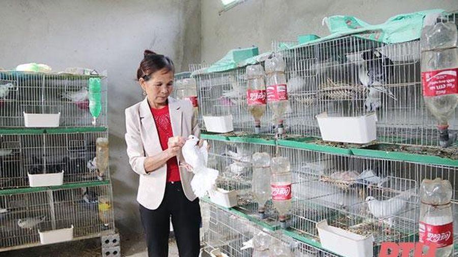 Phong trào thi đua sản xuất của hội viên, phụ nữ xã Quý Lộc