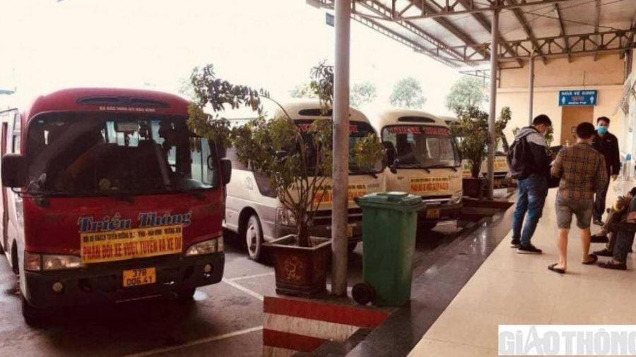 Đình công xe khách ở Nghệ An: Các nhà xe đã trở lại hoạt động bình thường
