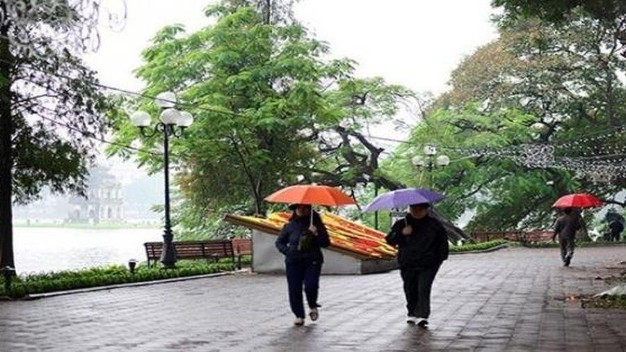 Thời tiết ngày mai 8/3: Không khí lạnh về Hà Nội mưa lạnh