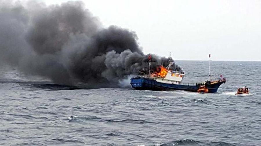 Thuyền cá Palestine bị nổ làm 3 người thiệt mạng, truyền thông đổ lỗi cho hải quân Israel