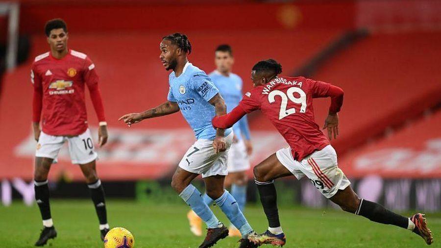 Trực tiếp bóng đá Man City vs Man Utd vòng 27 Ngoại Hạng Anh