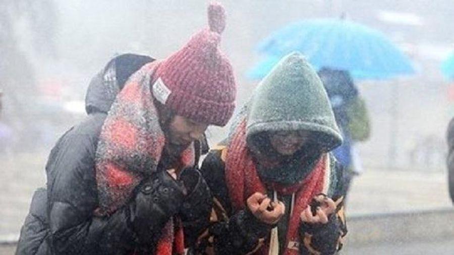 Không khí lạnh tràn về, Bắc Bộ mưa rét đến khi nào?