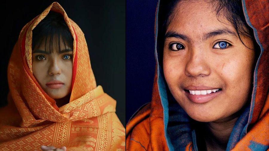 Thạch Thị Sa Pa - Nữ sinh người Chăm với đôi mắt 2 màu 'ma mị' hiếm thấy ngày ấy giờ càng xinh xắn, tiết lộ mong muốn sau khi tốt nghiệp đại học