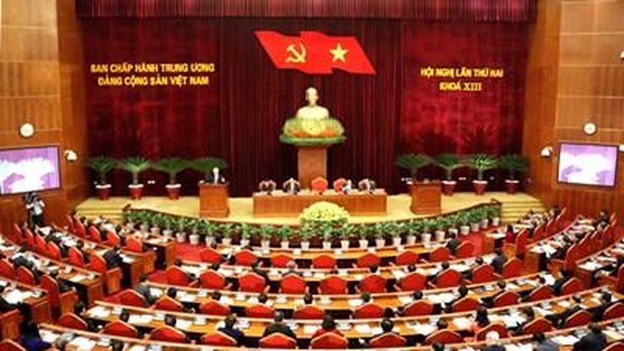 Khai mạc Hội nghị Trung ương lần thứ 2 khóa XIII