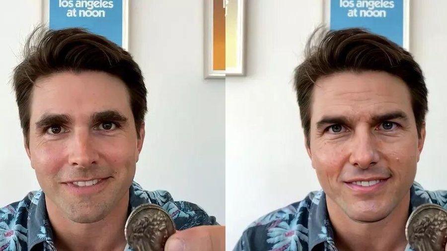 Dùng deepfake giả mạo Tom Cruise trên TikTok