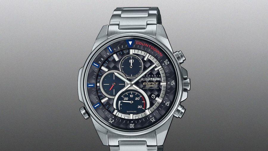 Casio hợp tác với tay đua F1 để sản xuất đồng hồ