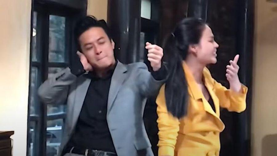 Hồng Đăng choáng sau khi bị Thu Trang tát mạnh ở hậu trường