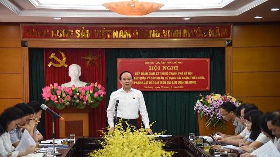 Hà Nội: Chuẩn bị tái giám sát về các dự án chậm triển khai, vi phạm Luật Đất đai