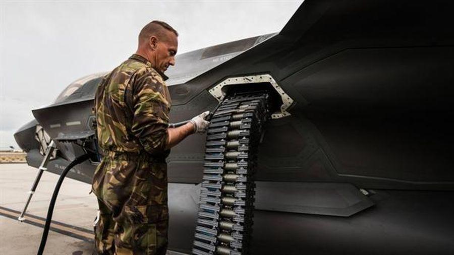 Pháo GAU-22/A giúp F-35 đánh bại Su-57 trong cận chiến?