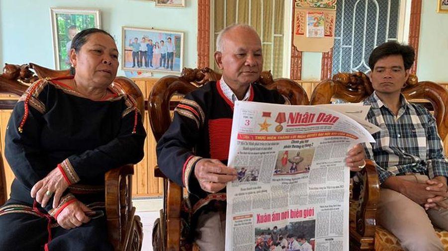 Cán bộ, nhân dân Tây Nguyên với Báo Nhân Dân