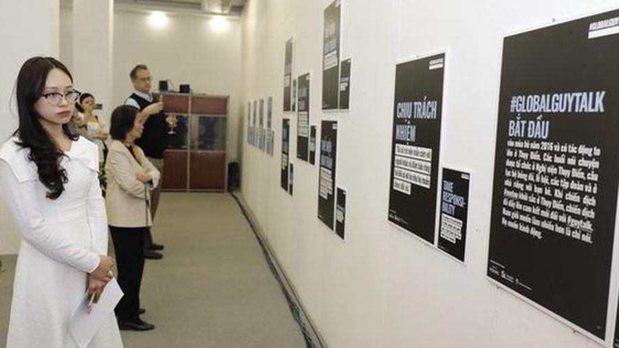 Có gì ở triển lãm 'Đàn ông toàn cầu lên tiếng' khai mạc ngày 8-3?