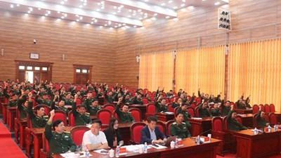 Quân khu 4 giới thiệu nhân sự ra ứng cử đại biểu Quốc hội khóa XV