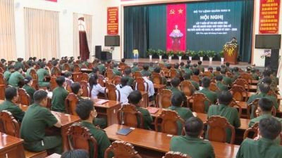 Quân khu 9 lấy ý kiến nhận xét của cử tri nơi công tác với người ứng cử đại biểu Quốc hội khóa XV