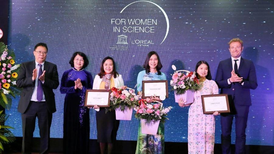 Chọn ứng viên Giải thưởng nghiên cứu khoa học L'Oreal - UNESCO năm 2021
