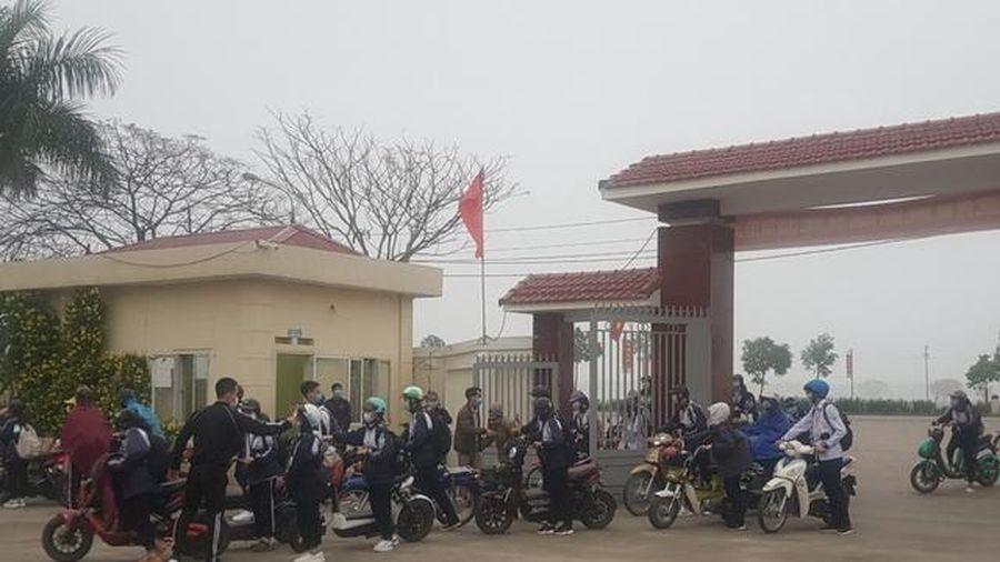 Hải Dương: Hơn 20 trường THPT và 4 trung tâm đã đón học sinh đi học trở lại