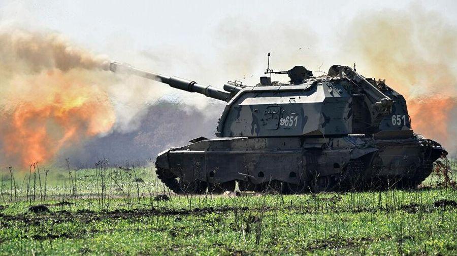 Lựu pháo Nga bắn cực chính xác