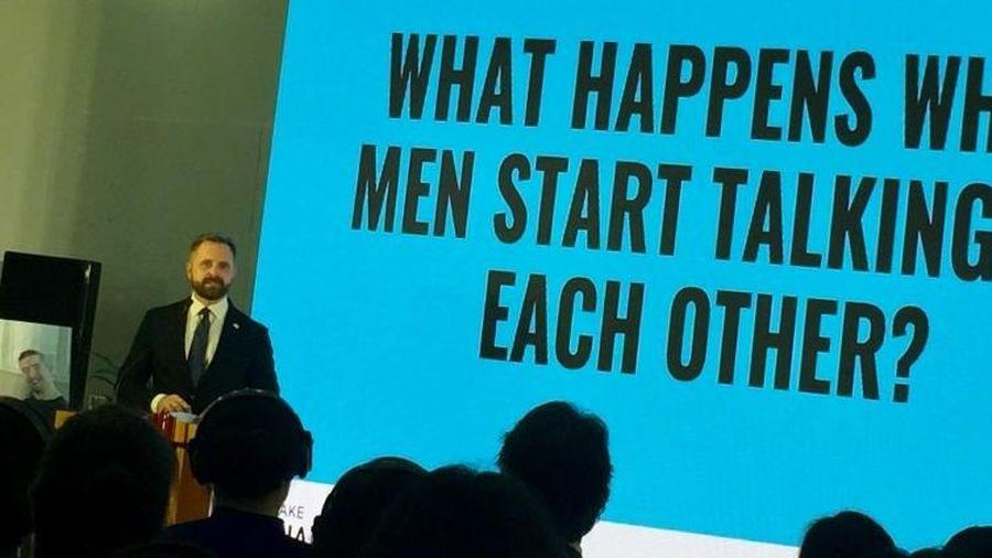 Ngày Quốc tế Phụ nữ và sáng kiến 'Khi đàn ông lên tiếng' của Thụy Điển